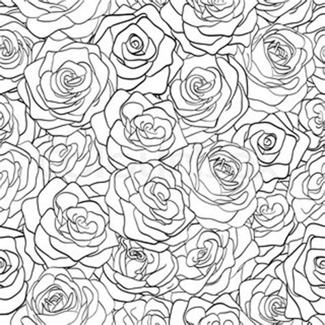 black and white rose pattern beautiful black and white seamless pattern in roses with