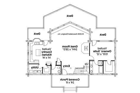 a frame house floor plans a frame house plans aspen 30 025 associated designs