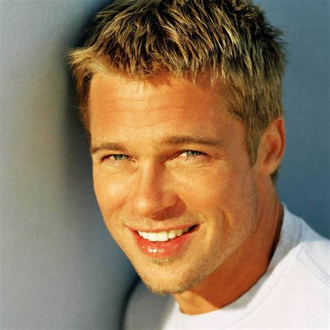 male celebrities with short blonde hair top 10 peliculas de brad pitt 1001 consejos