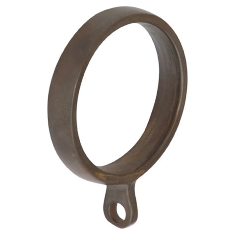 bronze curtain rings bronze finished curtain pole set with ball finials
