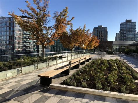 vancouver public library unveils  rooftop garden