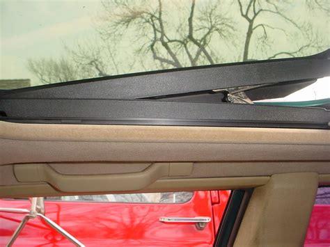 sunroof headliner repair