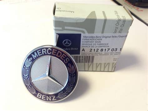 Emblem Kap Original Mercedes W212 orig mercedes emblem f 252 r motorhaube nur e klasse w212