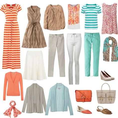 Summer Wardrobe by Your Wardrobe Colour Palette 171 Fashionandstylepolice