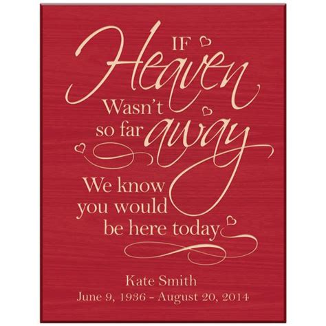 in loving memory gifts personalized wedding by