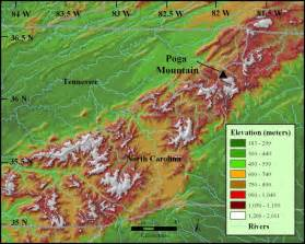 mountains map appalachian mountains map school projects