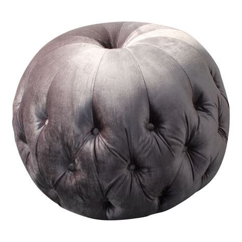 Soft Stool Pumpkin by Footstool Coffee Table Kensington Buttoned Pod