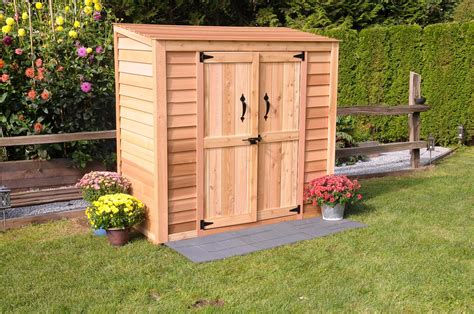 Patio Shed by Cedar Storage Sheds Innovation Pixelmari