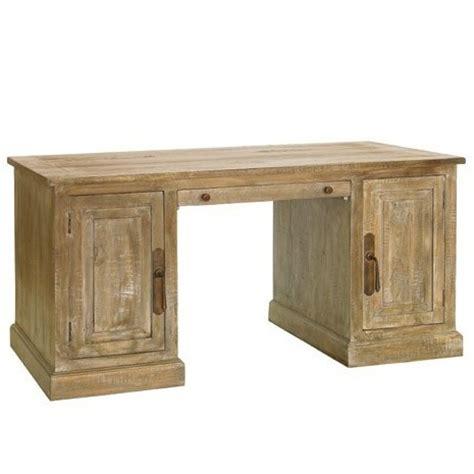 scrivania in legno massello scrivania legno massello decapata etnico outlet mobili