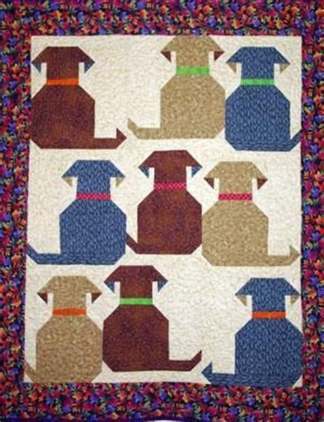 Puppy Quilt Pattern by 25 Best Ideas About Quilts On Machine