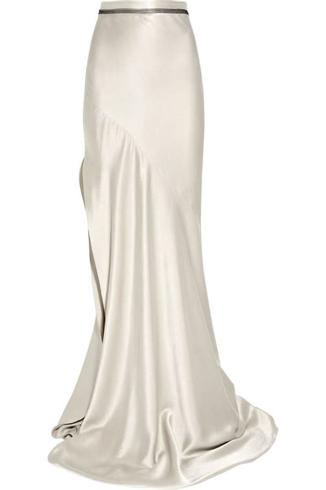 Rok Satin By Scarf 17 best ideas about silk skirt on s