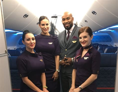 i shadowed a flight attendant here s what it s like to lead a crew