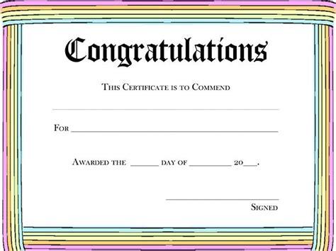 Blank Award Template printable certificate template infinite screnshoots blank
