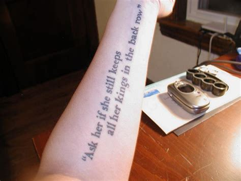 catcher in the rye tattoo j d salinger tattoos contrariwise literary tattoos