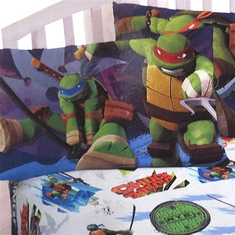 ninja turtle twin bed tmnt ninja turtles training 3pc twin bed sheet set