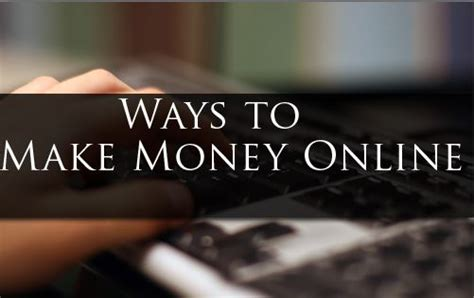 Make Easy Money Online From Home - make money from home easy money fairedelargentsurinternet