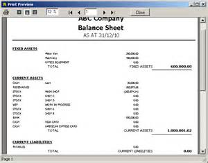Balance Sheet Format In Excel With Formulas by Gallery Balance Sheet Format In Excel