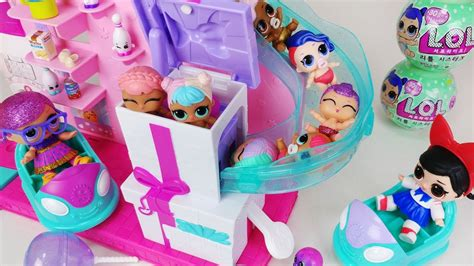 doll mart lol doll slide house and baby doll mart toys car