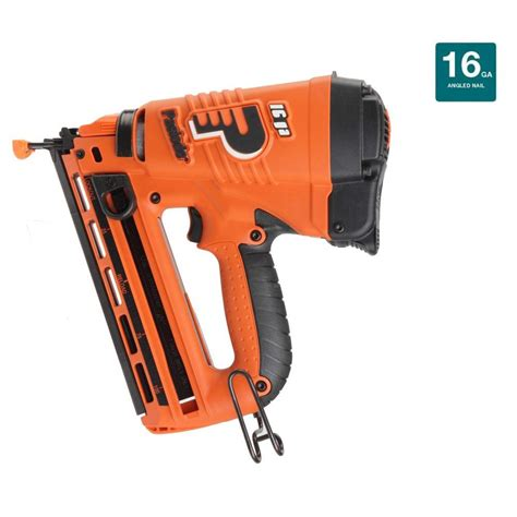 paslode cordless 16 angled lithium ion finish nailer