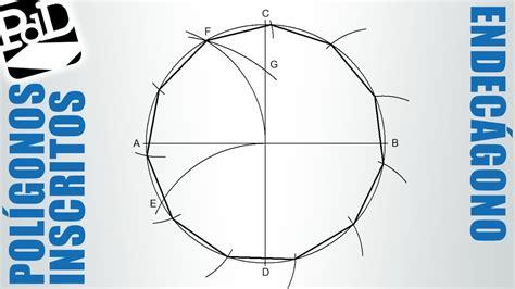 figuras geometricas undecagono endec 225 gono inscrito en una circunferencia pol 237 gono de 11