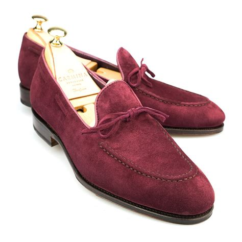 burgundy loafers for string loafer in burgundy suede