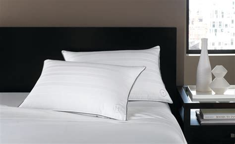 hotel collection bedding standard firm pillow
