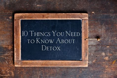 Things To Bring To Detox by 10 Things I Tell Anyone Who Wants To Detox Deliciously