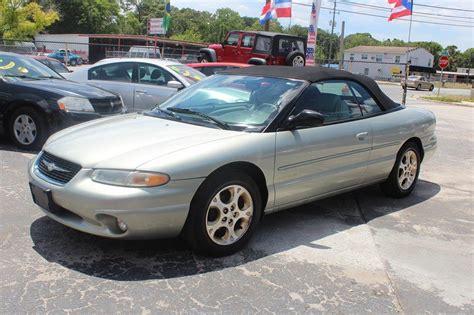 2000 Chrysler Sebring Convertible For Sale by 2000 Chrysler Sebring Convertible For Sale 167 Used Cars