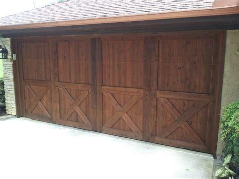 stain garage door garage door shutter and column staining best stain
