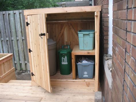 Easy Way To Build A Shed by Simple And Easy Steps To Build A Garbage Storage Shed