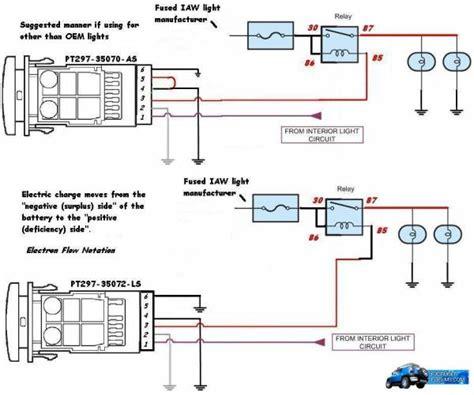 Oem Aux Light Switch Diagram Page 2 Toyota Fj Cruiser