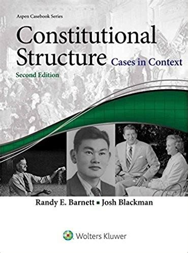 constitutional connected casebook aspen casebook books constitutional structure cases in context connected