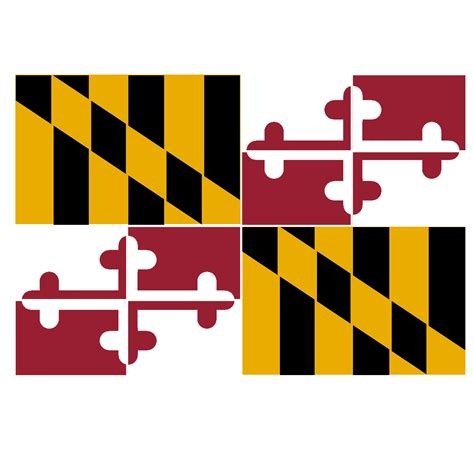 Marland Search Maryland Flag Stencil Search Engine At Search
