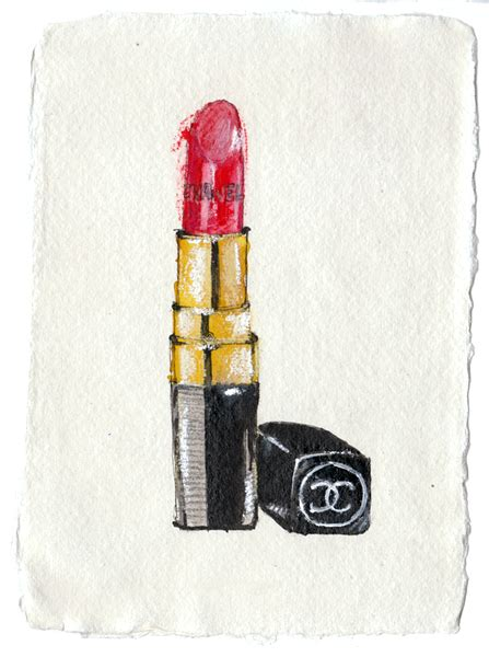 Lipstik Make Original lipstick drawing