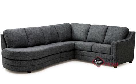 palliser chaise corissa fabric chaise sectional by palliser is fully