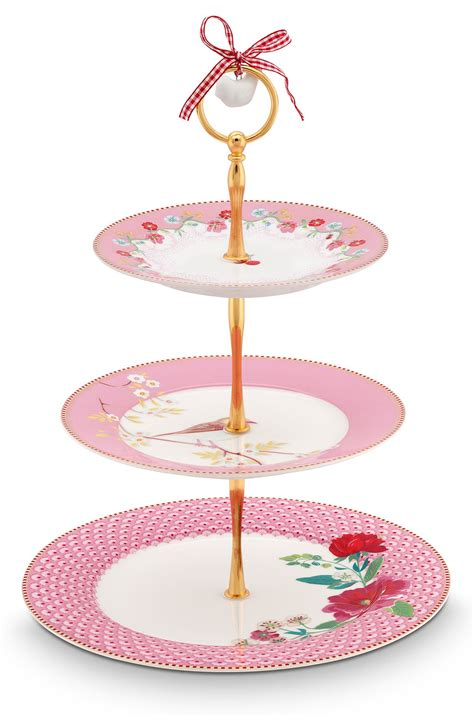 pip etagere pip studio the official website floral cake stand 3