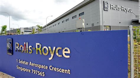 roll royce singapore rolls royce in china corruption probe