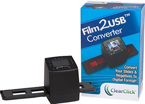 easy slide negative scanner film2usb converter clearclick film to usb converter 35mm slide and negative
