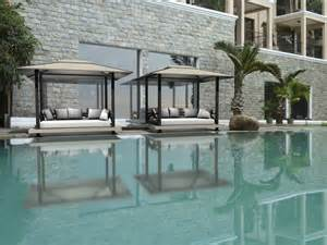 Swimming Pool With Canopy by Back White Wood Canopy Bed For Outdoor With Large Swimming