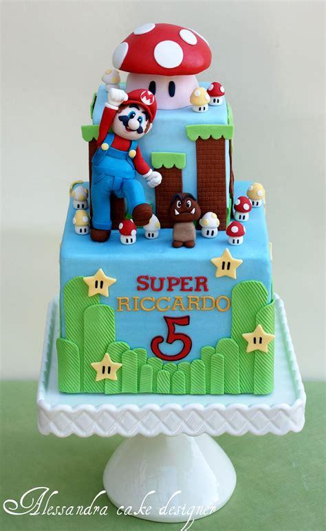 mario bross cake kids birthday party ideal birthday cake cake super mario cake