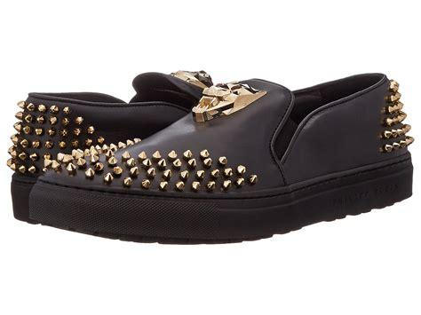 Weinbrenner Phili Slip On Shoes lyst philipp plein gold tiger slip on in black for