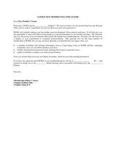Church Welcome Letter Template by Church Welcome Letter Template Parishioner