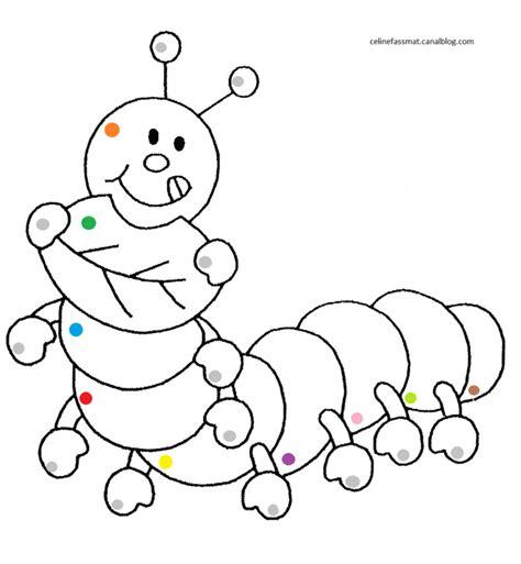 Chenille Coloriage Magique Assistante Maternelle Coloriage Coloriage Magique Ce2 Fran Ais L