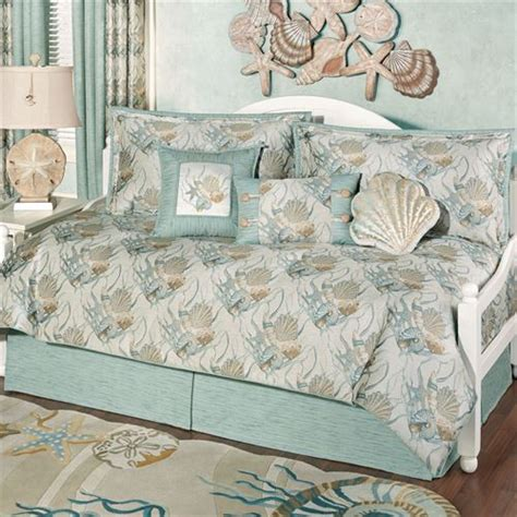 Coastal Bedding Set by Coastal Seashell Daybed Bedding Set