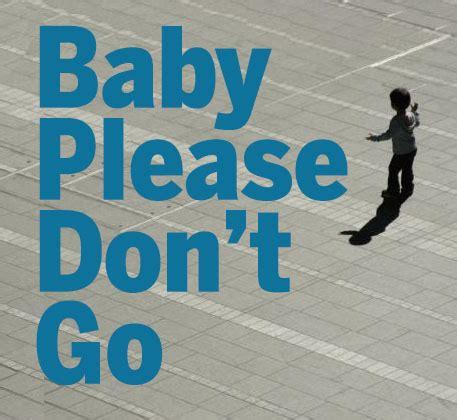 baby don t go wandering tendencies in children