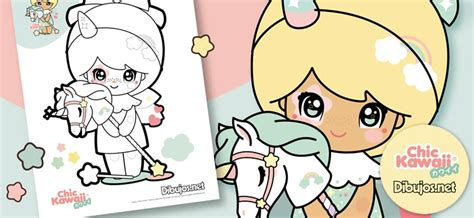 imagenes de monitos kawaii descarga y colorea los dibujos de chic kawaii 161 son