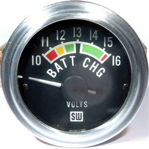 voltmeter dc  volt meter auto truck tractor box