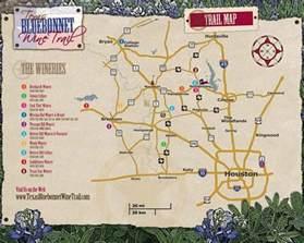 bluebonnet trail map pin by wanda on wine