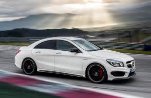 mercedes 45 amg official pictures motorward