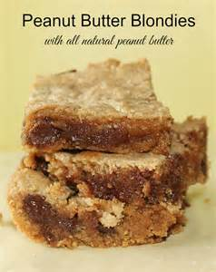 recipes using all natural peanut butter